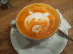 Bester Kaffee der Messe, der bei allen für gute Laune gesorgt hat.