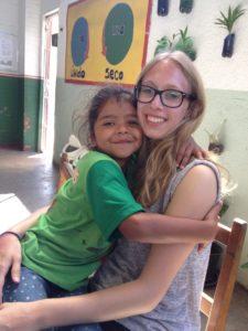 Anna arbeitete bei einer brasilianischen NGO.