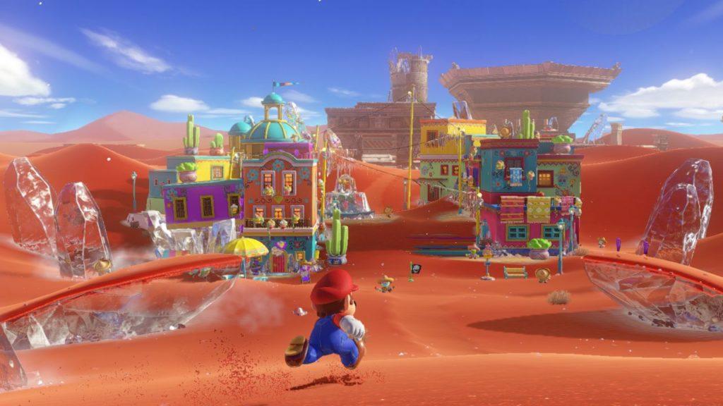 Ingame Shot Super Mario Odyssey