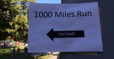 Technik ohne Grenzen, Greenovative, 1000 Miles Run, Erlangen