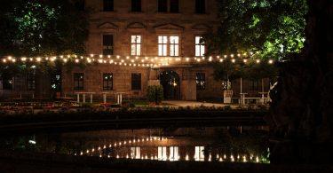 Brunnen, Schloßgarten, Erlangen, Schloßgartenfest