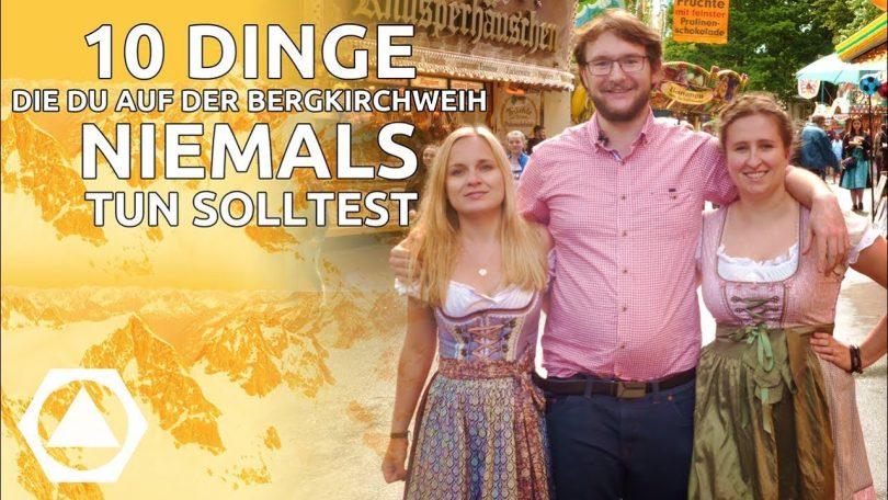 Bergkirchweih 2019, Berg, 10 Dinge, Bier, funklust