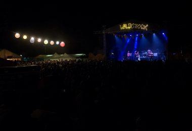 Waldstock 2019 Bühne bei Nacht